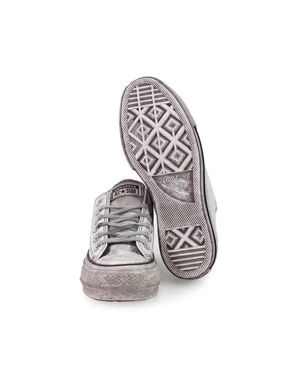 White Smoke 37 Star In All Converse Platform Lyst Sneaker TFlcuK1J3 07ea5bf35