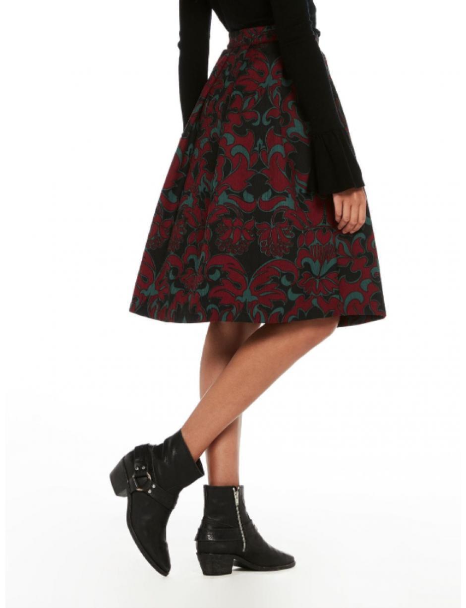 7e32a8c8d0 Maison Scotch Full Skirt in Black - Lyst