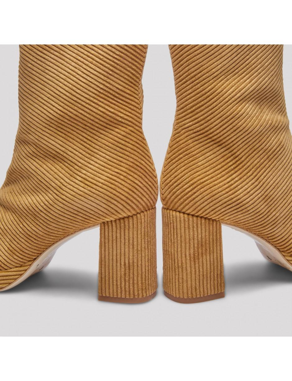 new arrival 23af4 69a82 Miista Carlota Toasted Cord Boots - Lyst