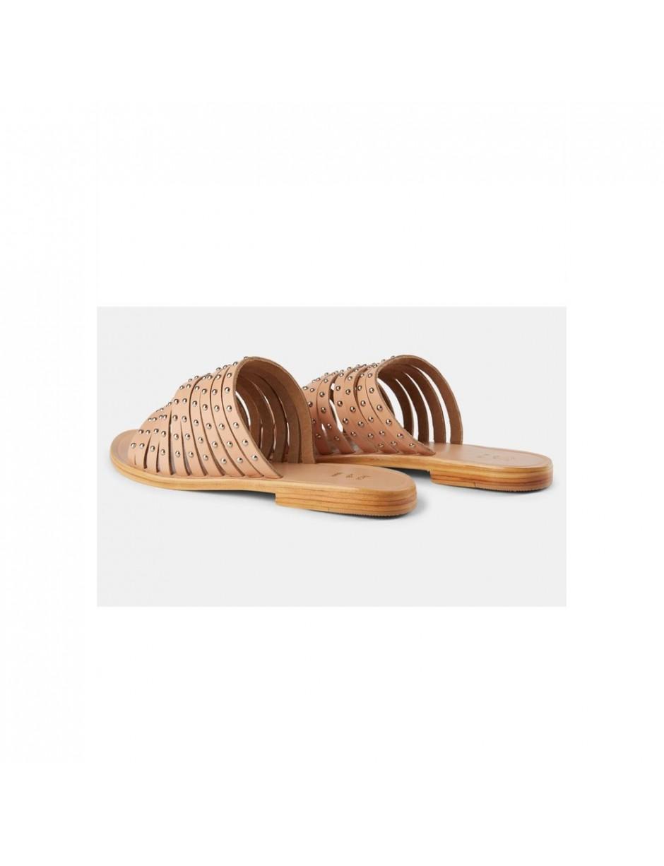 f1e8b8770c16 Shoe The Bear Jenna Stud Sandals in Brown - Lyst