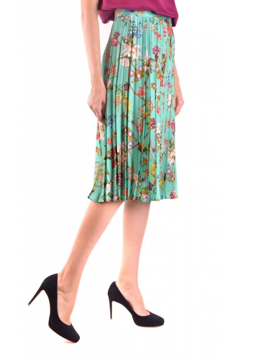 2b8271ffcd Lyst - Pinko Skirt in Green - Save 35.294117647058826%