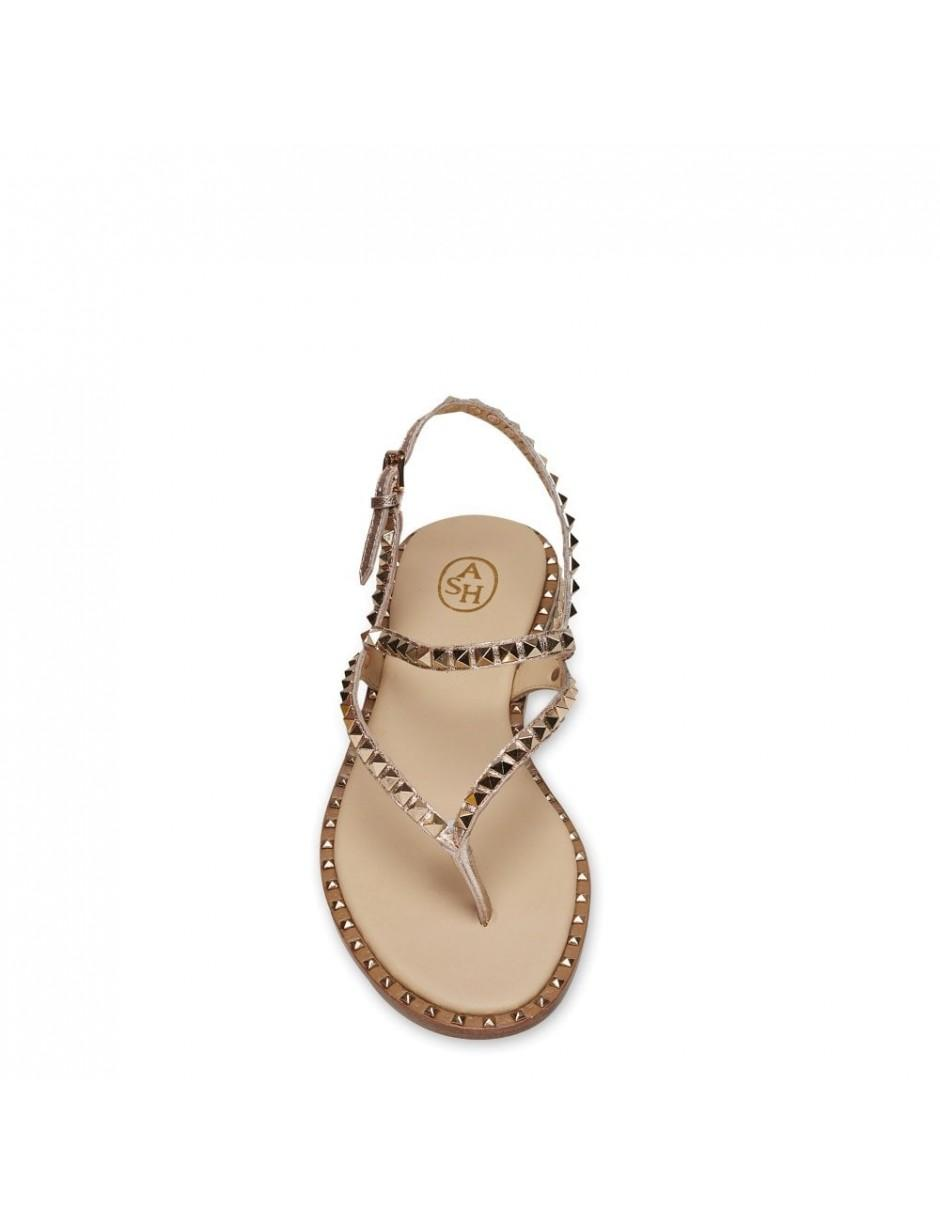 4d20ea9a4972 Lyst - Ash Peps Sandals In Rame in Metallic