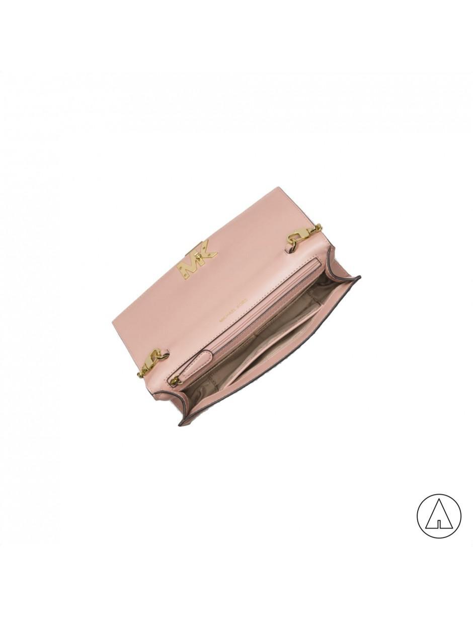 8a9a7b3e2766 Lyst - MICHAEL Michael Kors Michael Kors Clutch Bag In Light Pink in ...