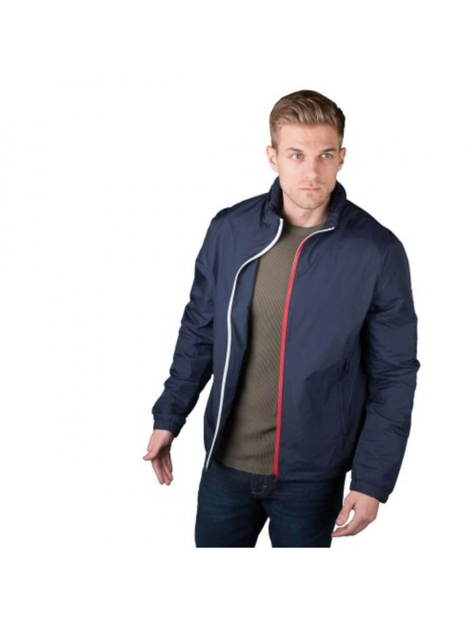 f4eddfda Tommy Hilfiger Lightweight Zip Up Windbreaker Jacket in Blue for Men ...