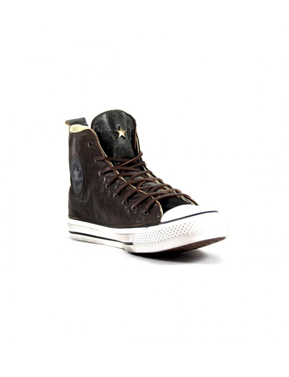 7616dff93a01 Converse Limited Ed. All Star Hi Premium Brown green Sneakers 40 in ...