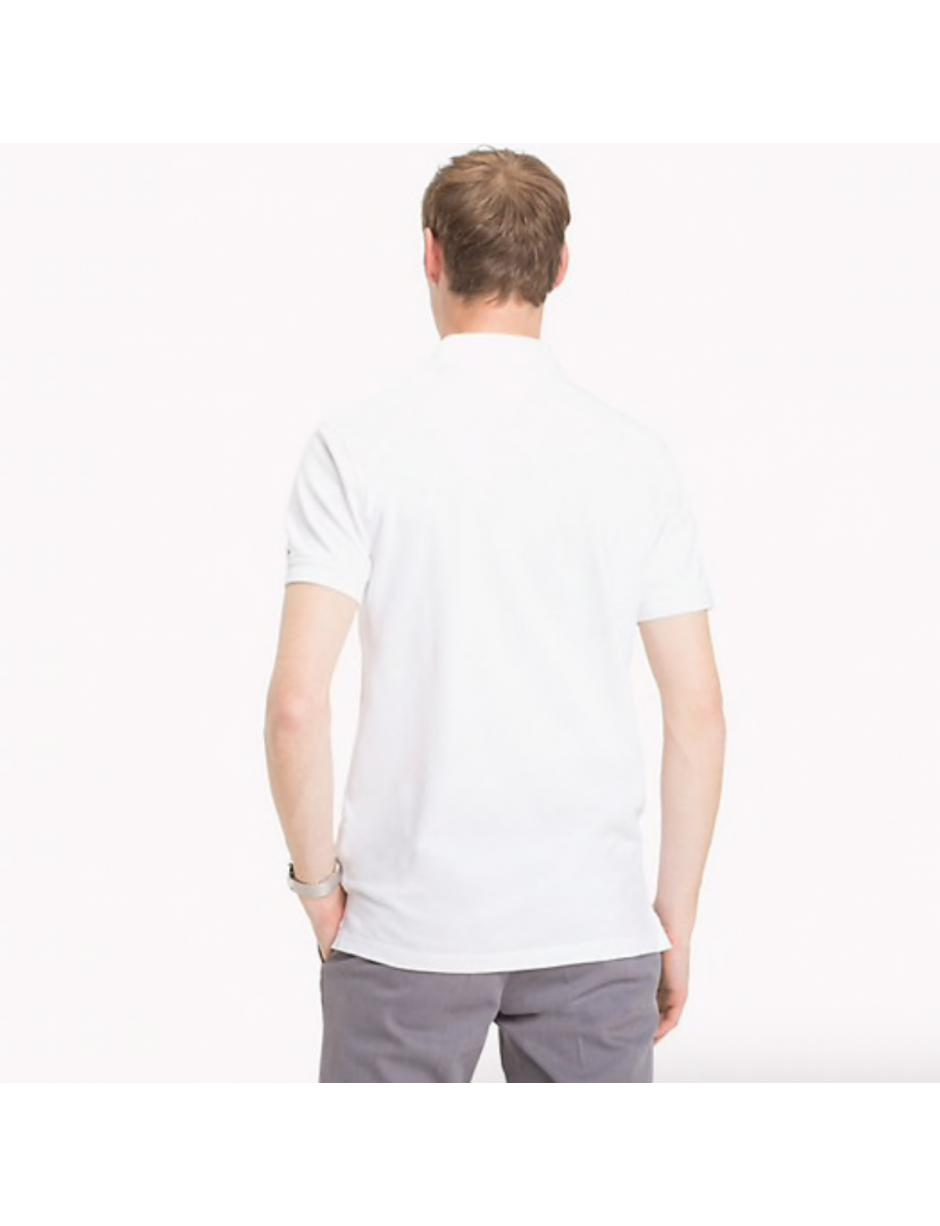 c6929207a Tommy Hilfiger Placket Polo Shirt in White for Men - Lyst