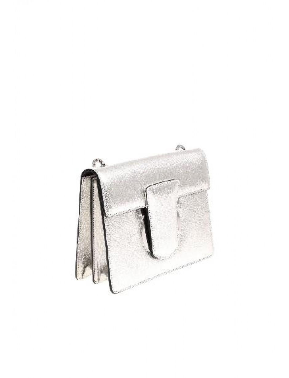 ef9f05d3e5b Lyst - Ferragamo Cross Body Bag In Silver in Metallic