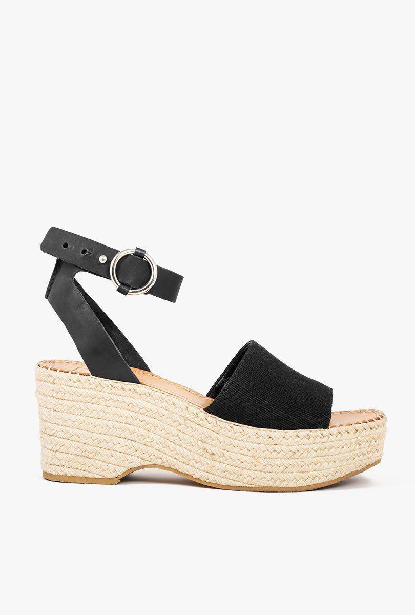 bd9b119b839 Lyst - Dolce Vita Lesly Espadrilles Sandals in Black