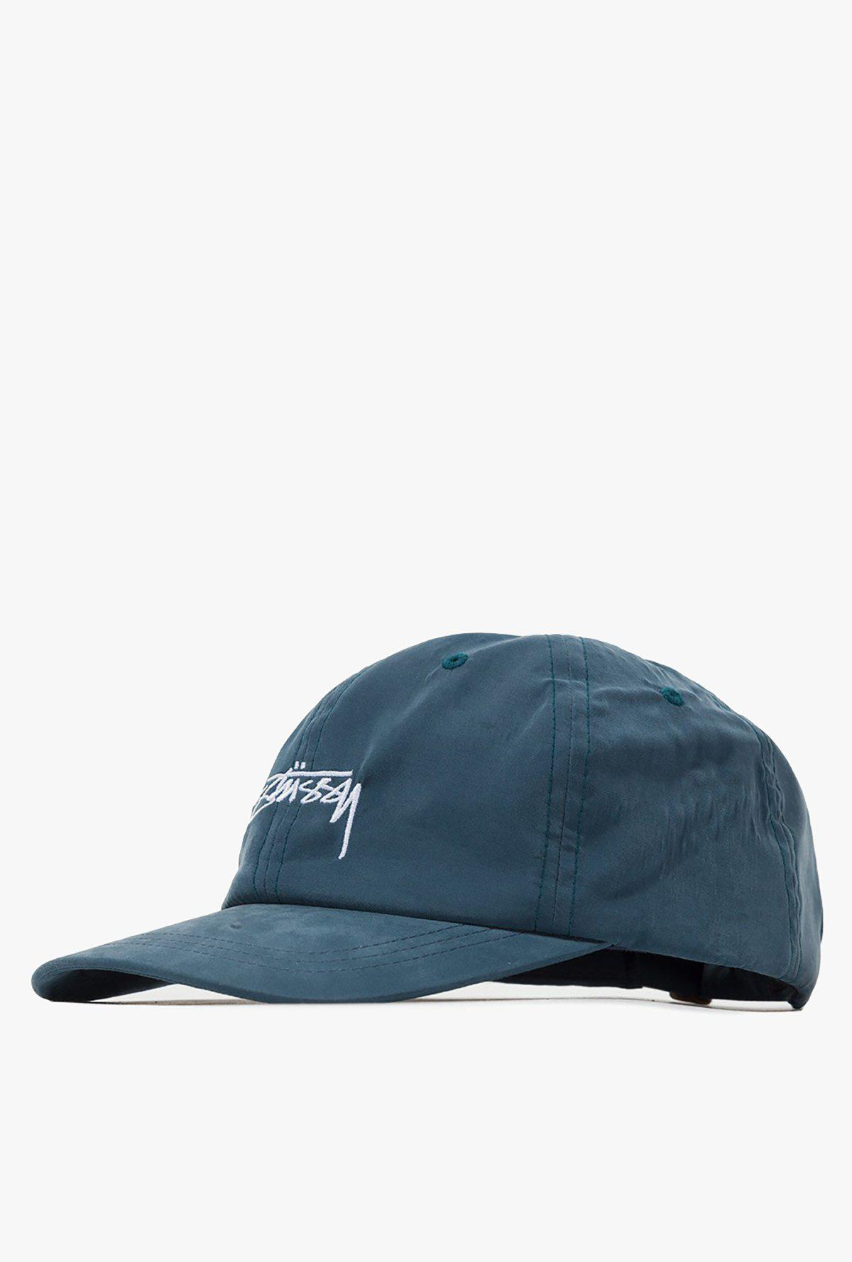 9c2986ac92c Stussy Peached Smooth Stock Low Pro Cap in Blue for Men - Lyst