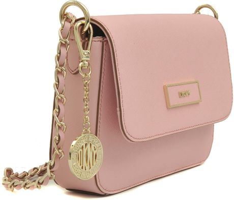 Dkny Bryant Park Mini Pink Saffiano Leather Crossbody Bag - Best ...