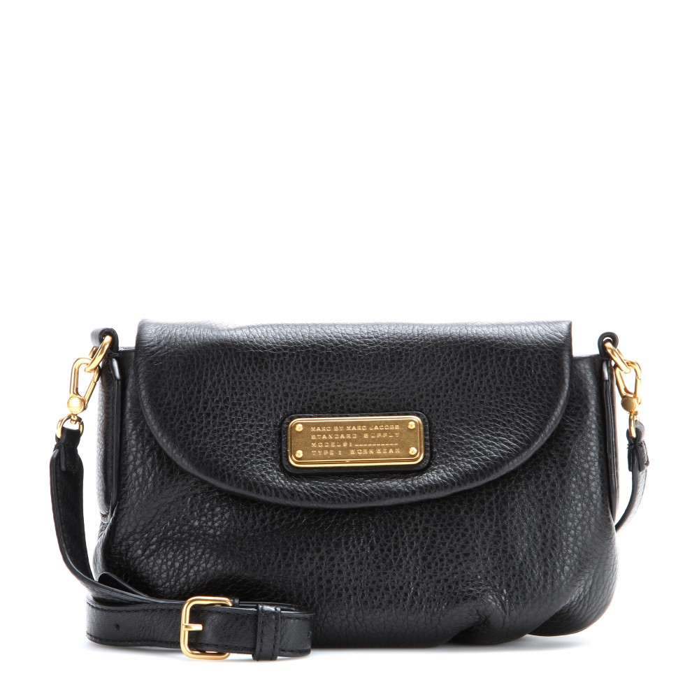 8222f4cdcee Marc By Marc Jacobs Classic Q Flap Percy Leather Shoulder Bag in ...