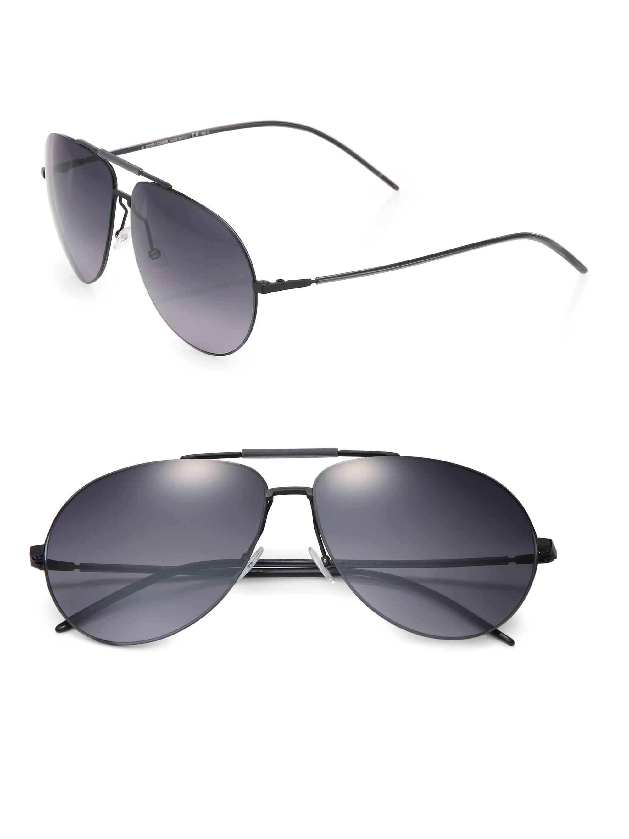 df1a12ca0b Gianfranco Ferre Mens Black Aviator Sunglasses