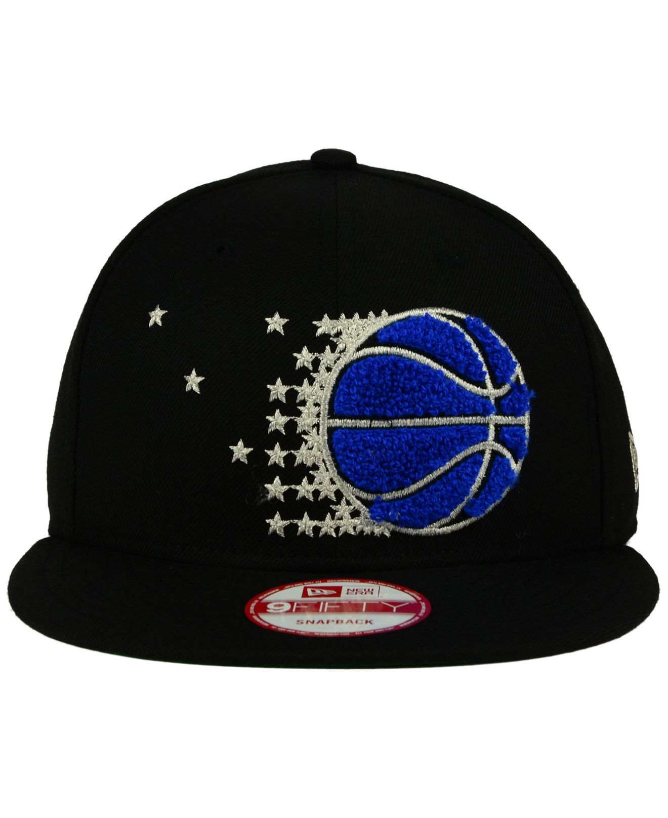 new concept 54fc2 3cb4a ... new era nba retro showtime 9fifty snapback cap 0f051 45faa  canada lyst  ktz orlando magic letter man 9fifty snapback cap in black for men 87d30  0746e