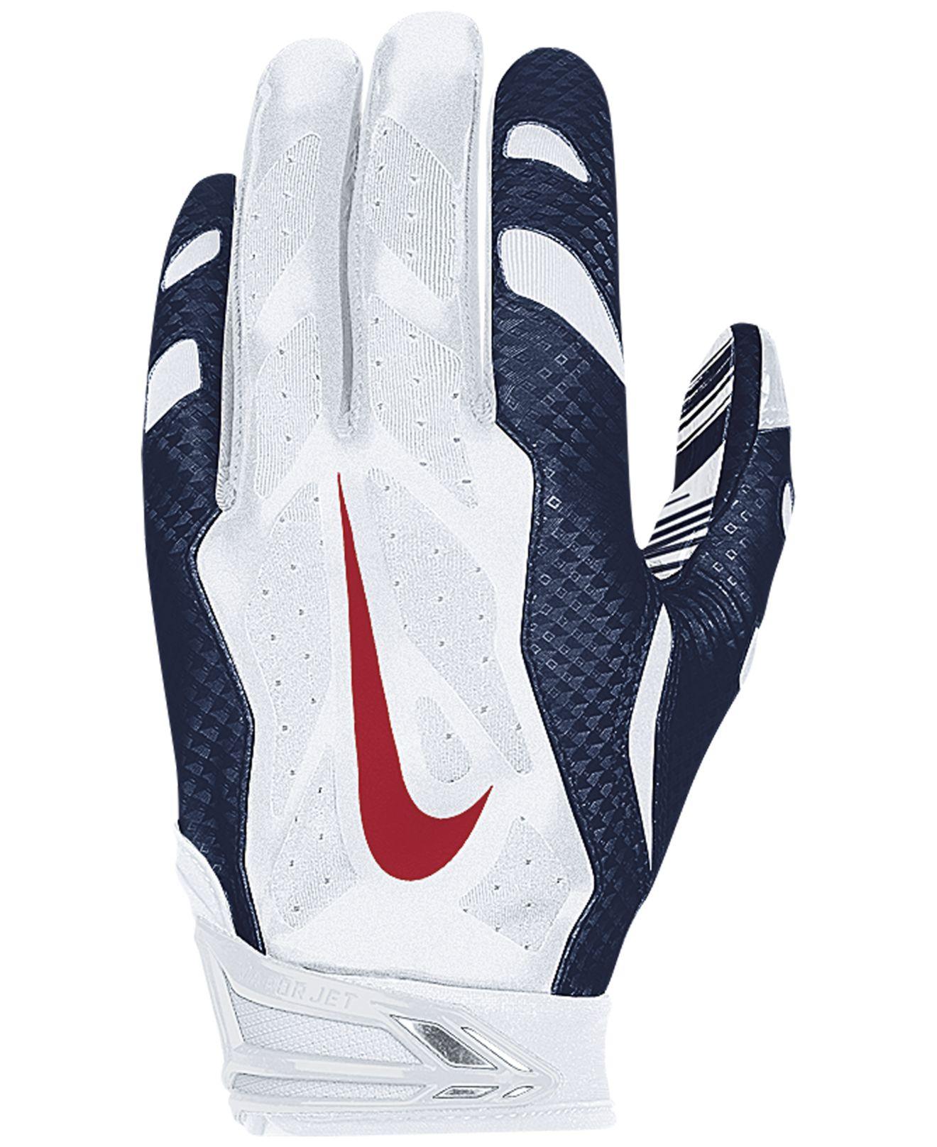 Lyst - Nike New England Patriots 30 Vapor Jet Gloves in Blue for Men 0317e2b6ee