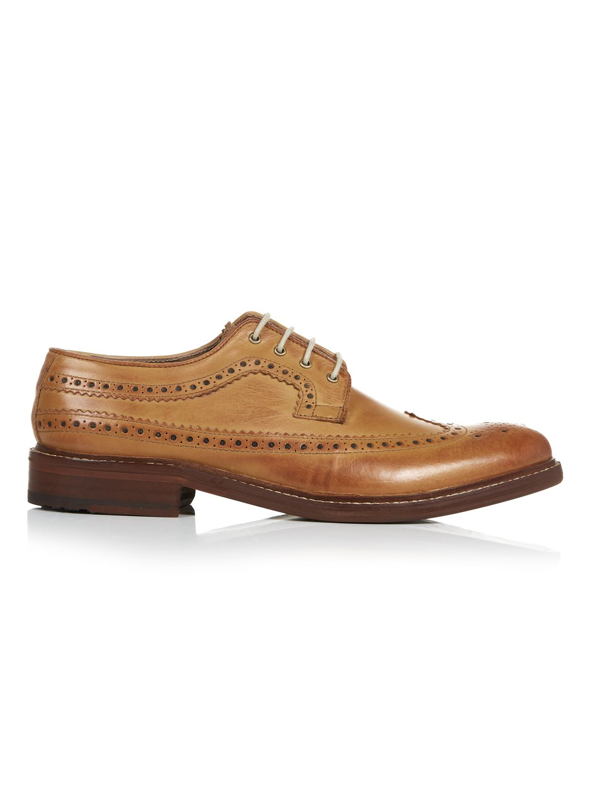 Ben Sherman Brown Shoes