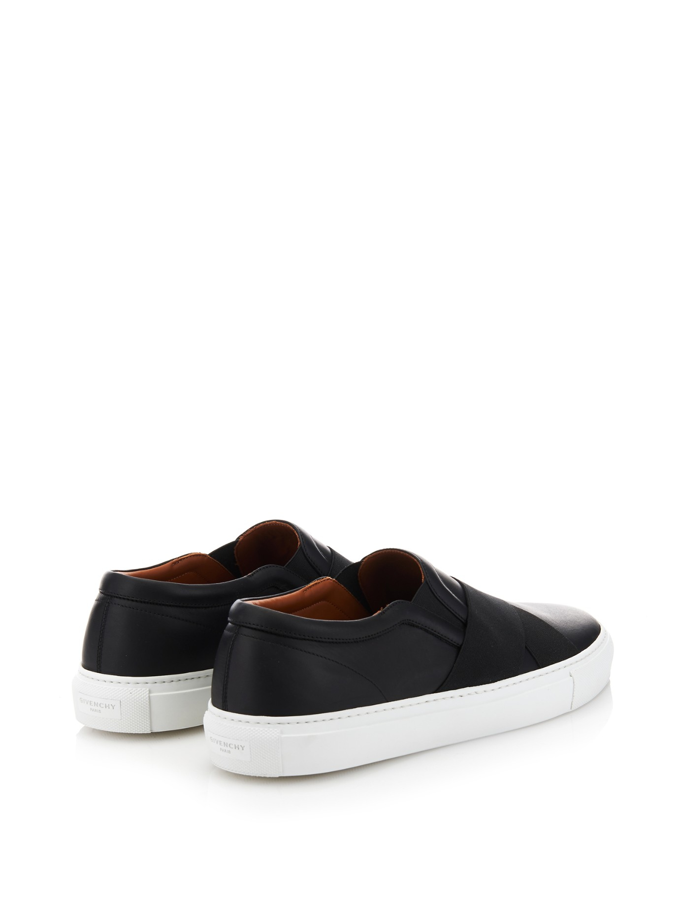 Givenchy Sneaker slip on Skate Elastic leather black 5nrSH