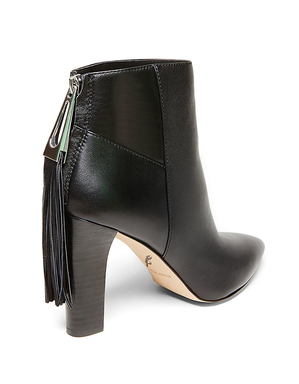 BRIAN ATWOOD Leather Ankle Boots 9mS32