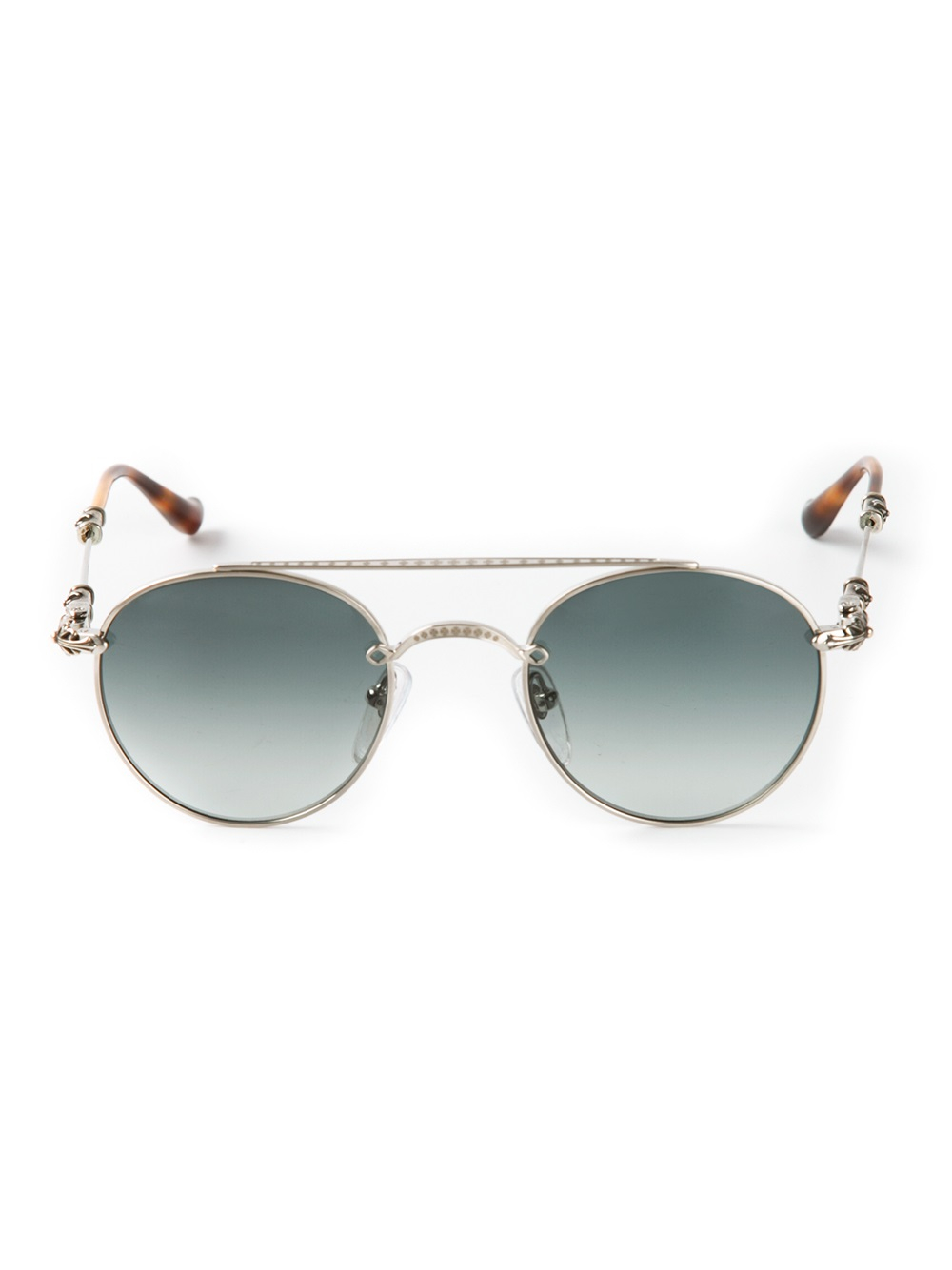 df14a173ba Lyst - Chrome Hearts Bubba Sunglasses in Metallic
