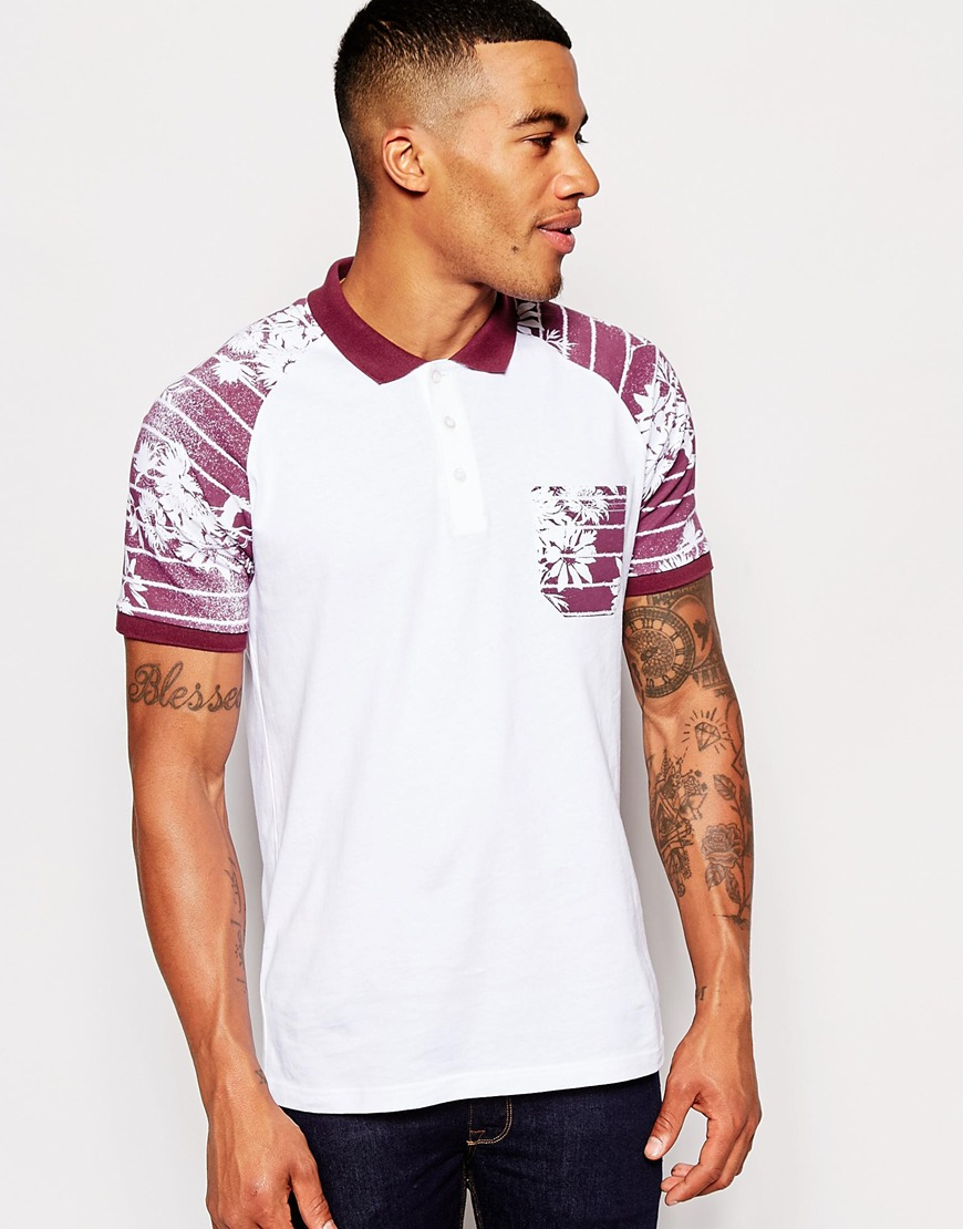 White And Burgundy Shirt | Is Shirt