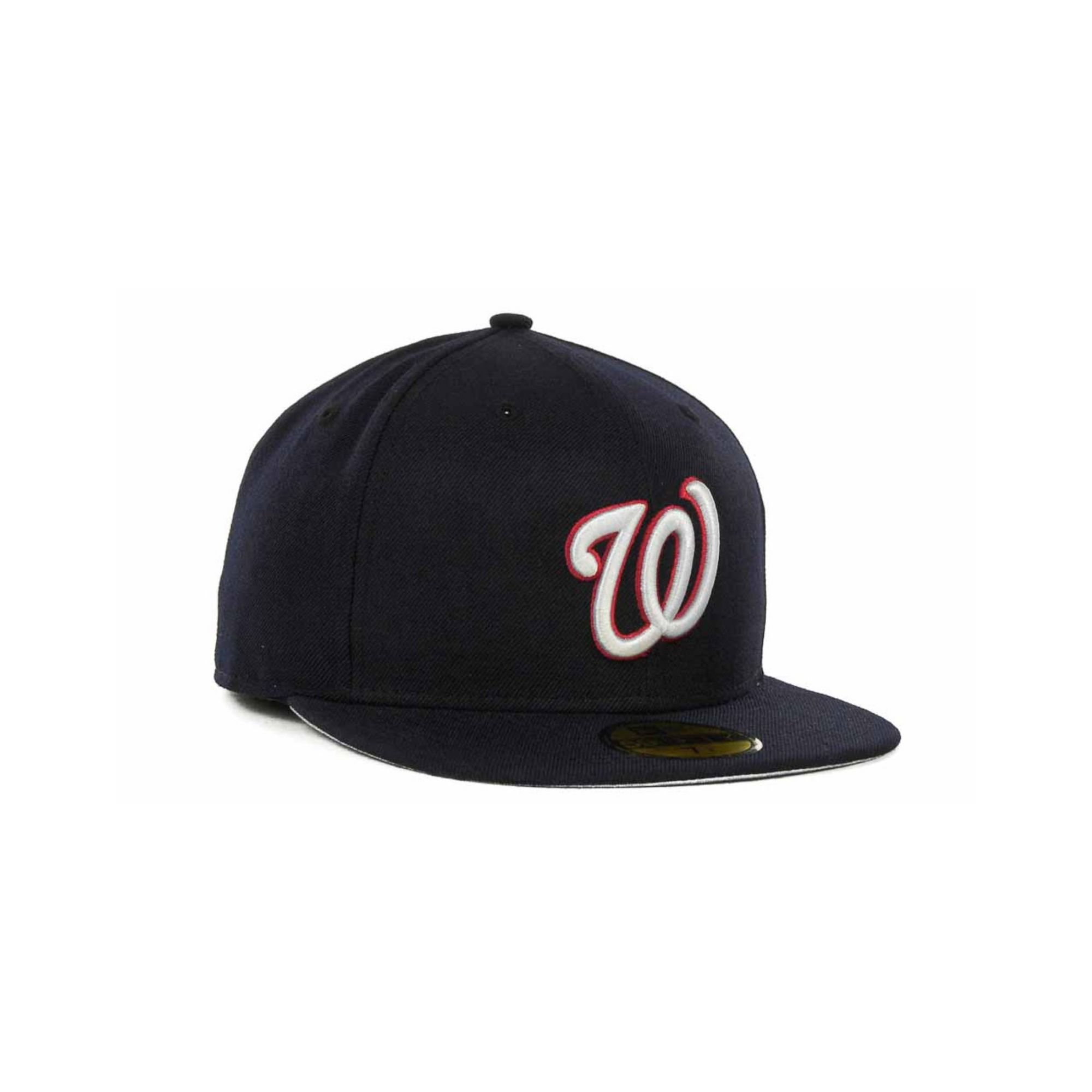 pretty nice 12195 9a3fd ... denmark lyst ktz washington nationals mlb cooperstown 59fifty cap in  blue 3a1a0 46f1e