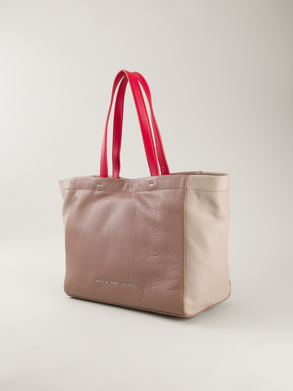 Marc by marc jacobs Whats The T Tote Bag in Pink | Lyst