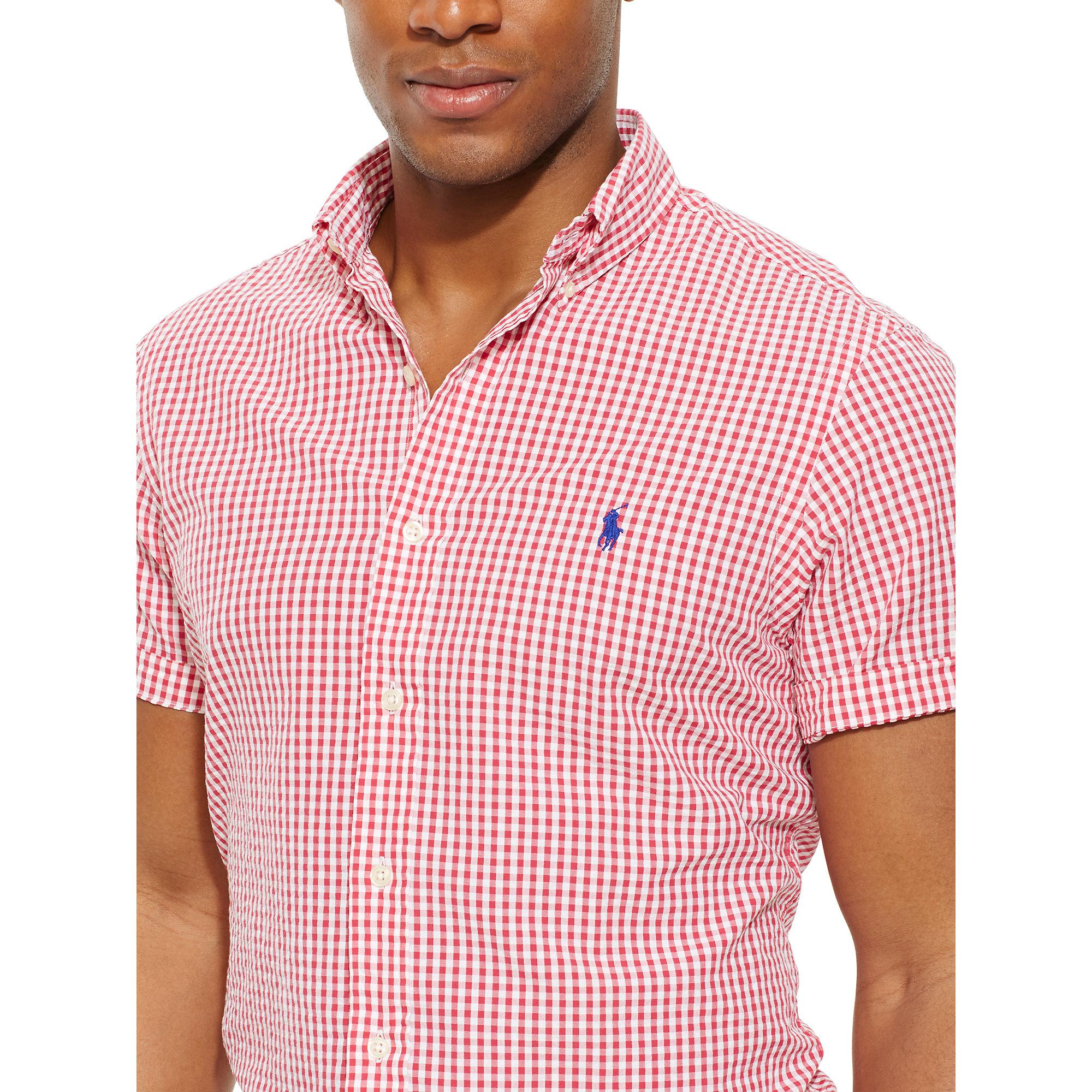 Ralph Lauren Polo White Seersucker Dress Shirts Ralph Lauren Polo