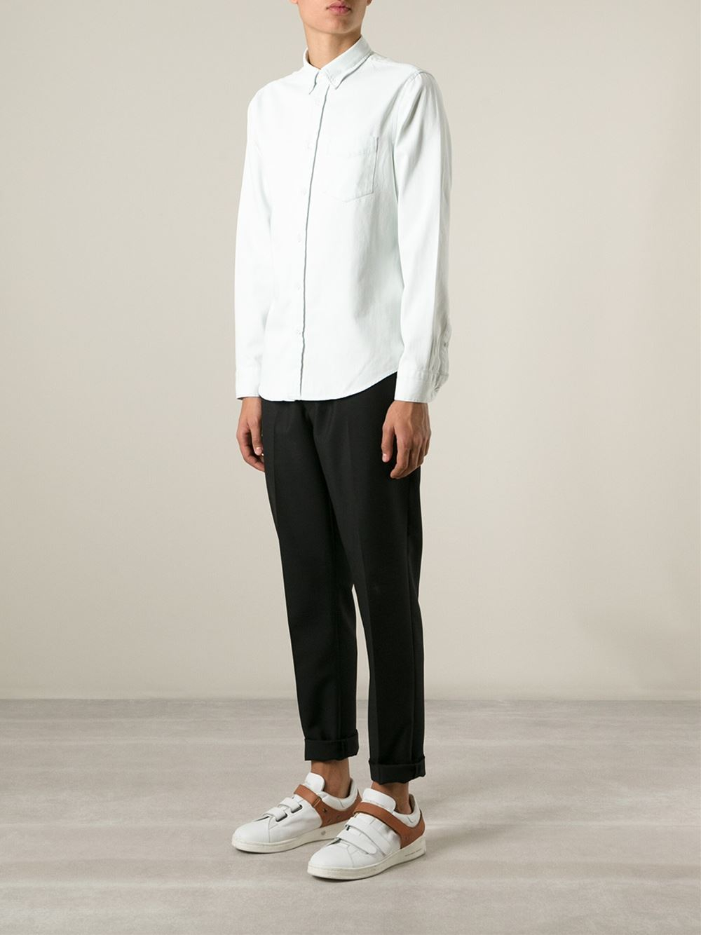 Isherwood in White Acne Studios Limited Edition Cheap Price Discount Recommend Clearance Discount 4S7ktVTi