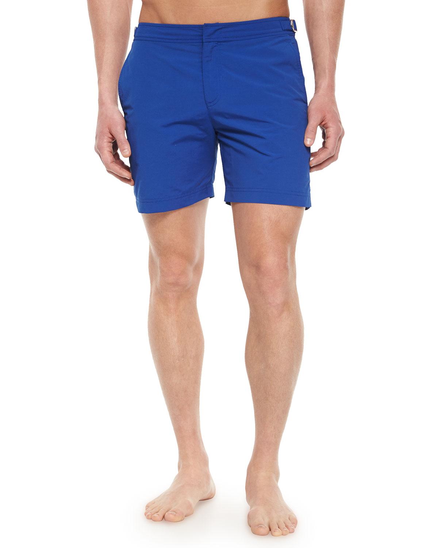 Orlebar brown Bulldog Mid-Length Swim Trunks in Blue for ...