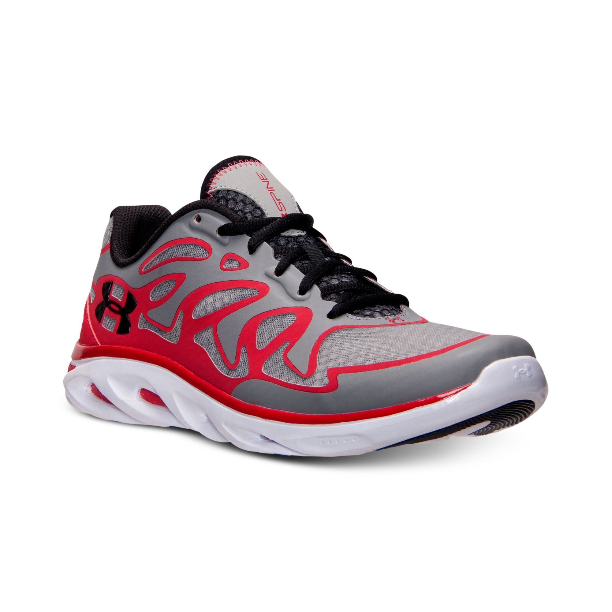 Under Armour Mens Spine Evo Running Sneakers From Finish