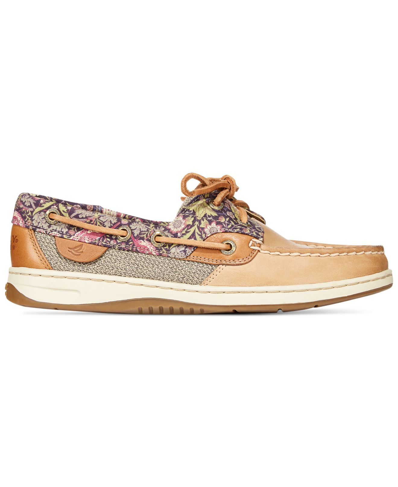 Sperry Top Sider Women S Bluefish Linen Oat Boat Shoes In
