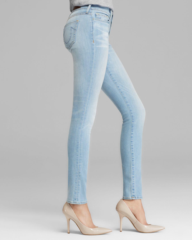 08c98feac True Religion Halle Skinny Jeans In Breezy Meadow in Blue - Lyst