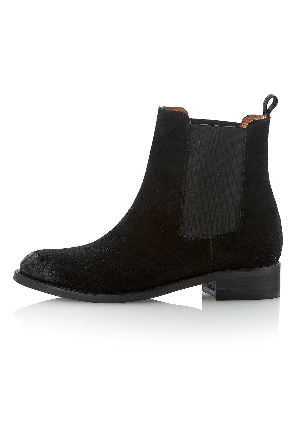 topshop pearson suede chelsea ankle boots by bertie in