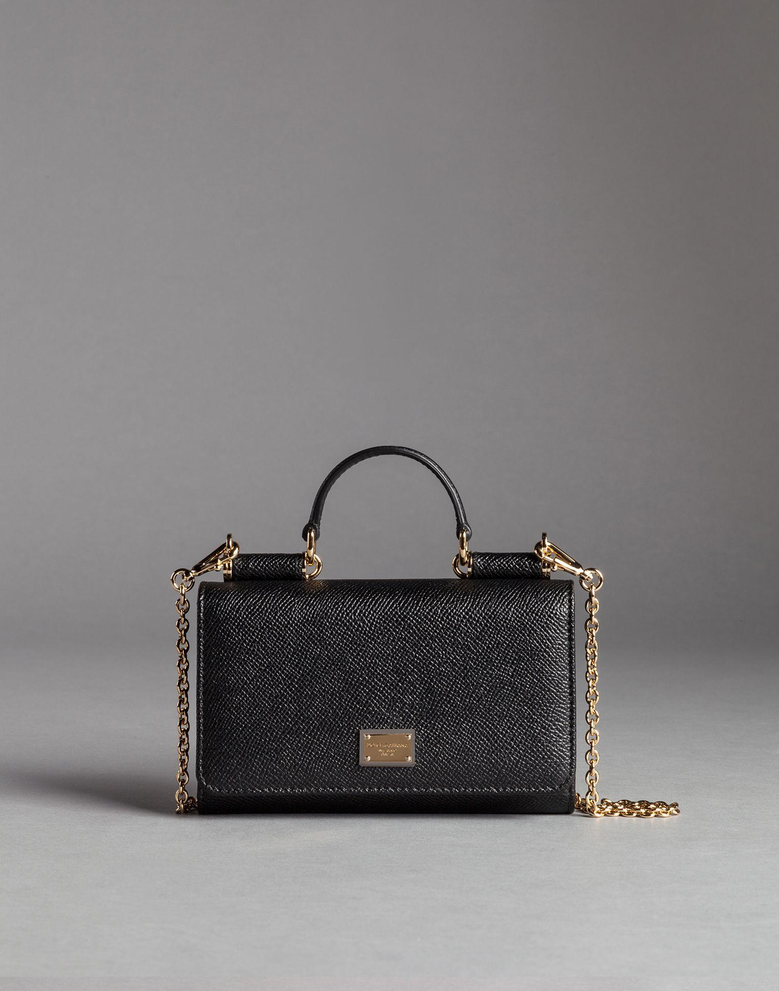 ... new products 01899 086ac Lyst - Dolce Gabbana Mini Von Bag In Dauphine  Print Leather ... 749e4743e5a04