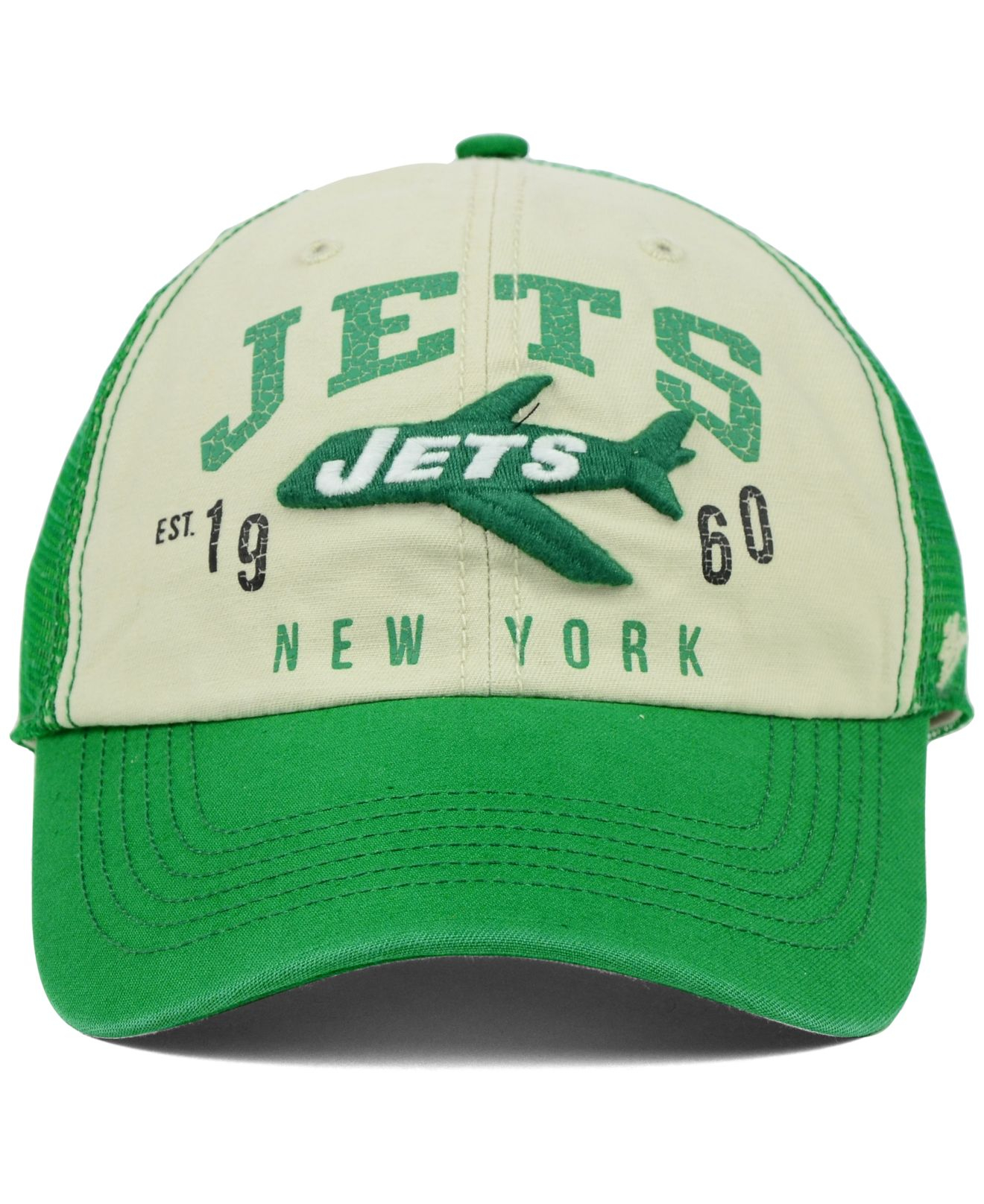 los angeles f7053 f838e Lyst - 47 Brand New York Jets Underwood Clean Up Cap in Green for Men