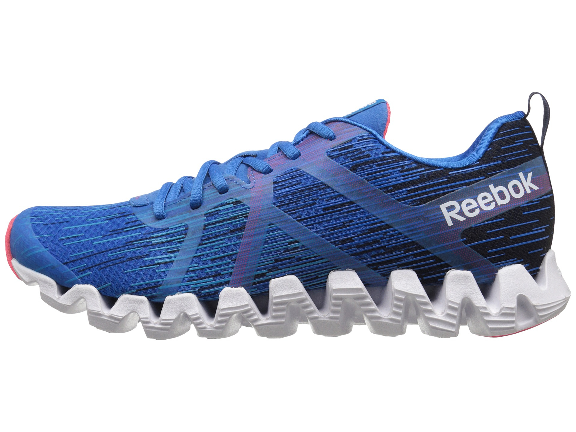 finest selection 12ffc 27dec Reebok Zigtech Squared 2.0 in Blue for Men - Lyst
