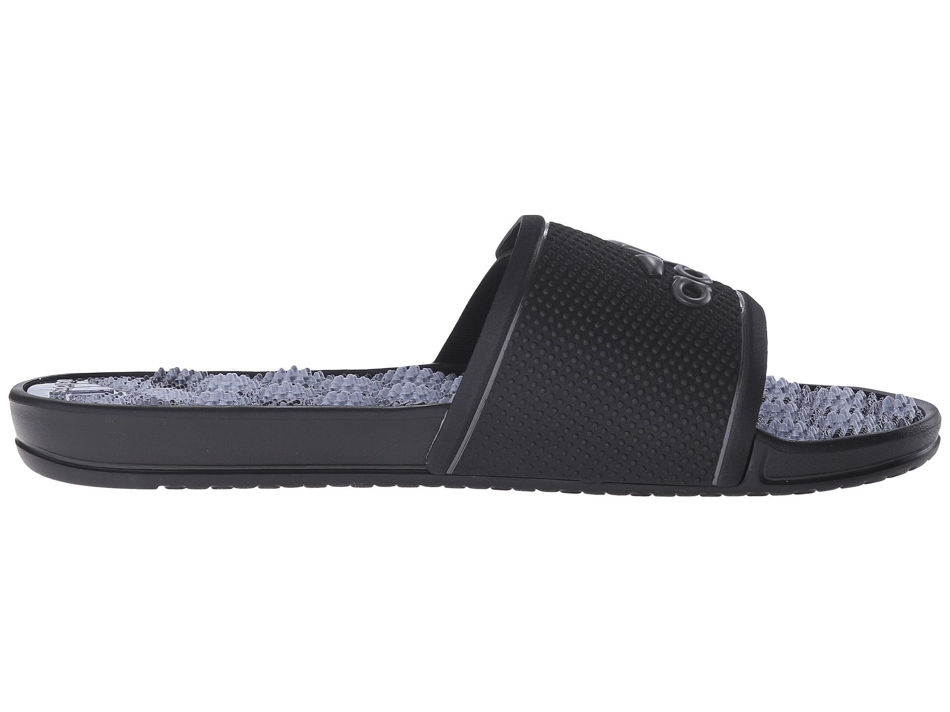 Lyst Adidas Originals Adissage 2 0 M Logo In Black For Men