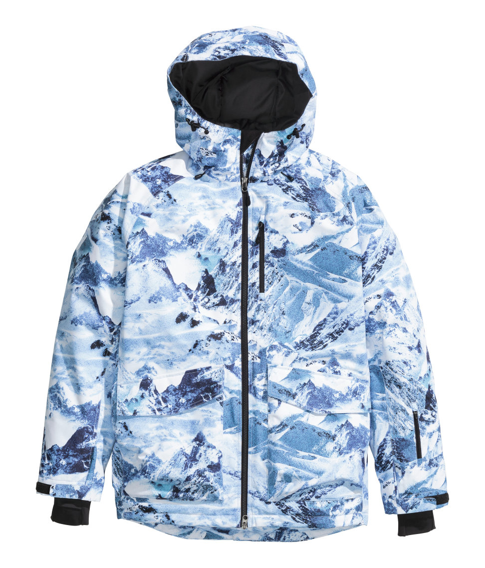 4a66c9ac6 H M Padded Ski Jacket in Blue for Men - Lyst