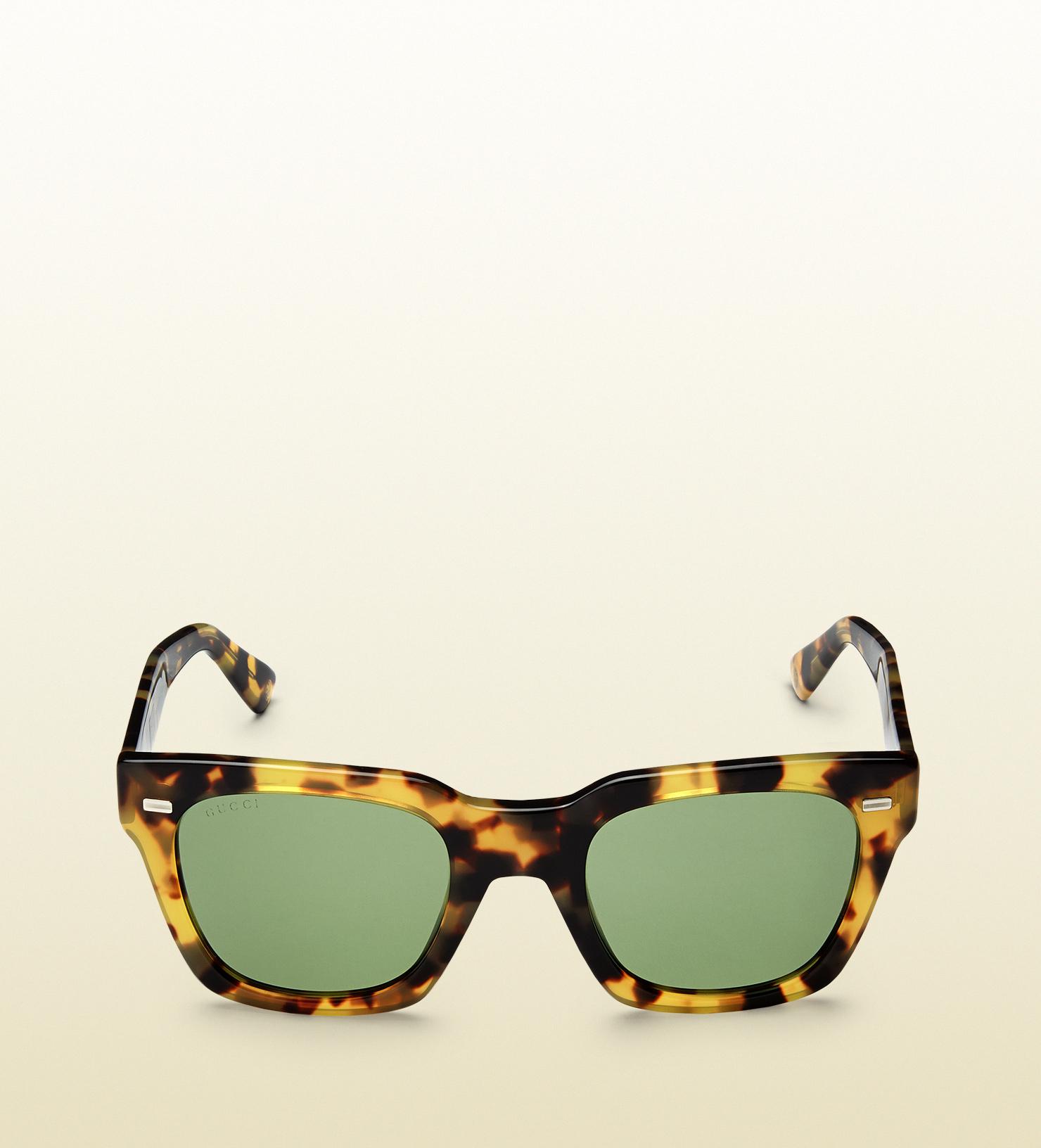 Havana Tortoiseshell Sunglasses Gucci UiNDwTcXE4