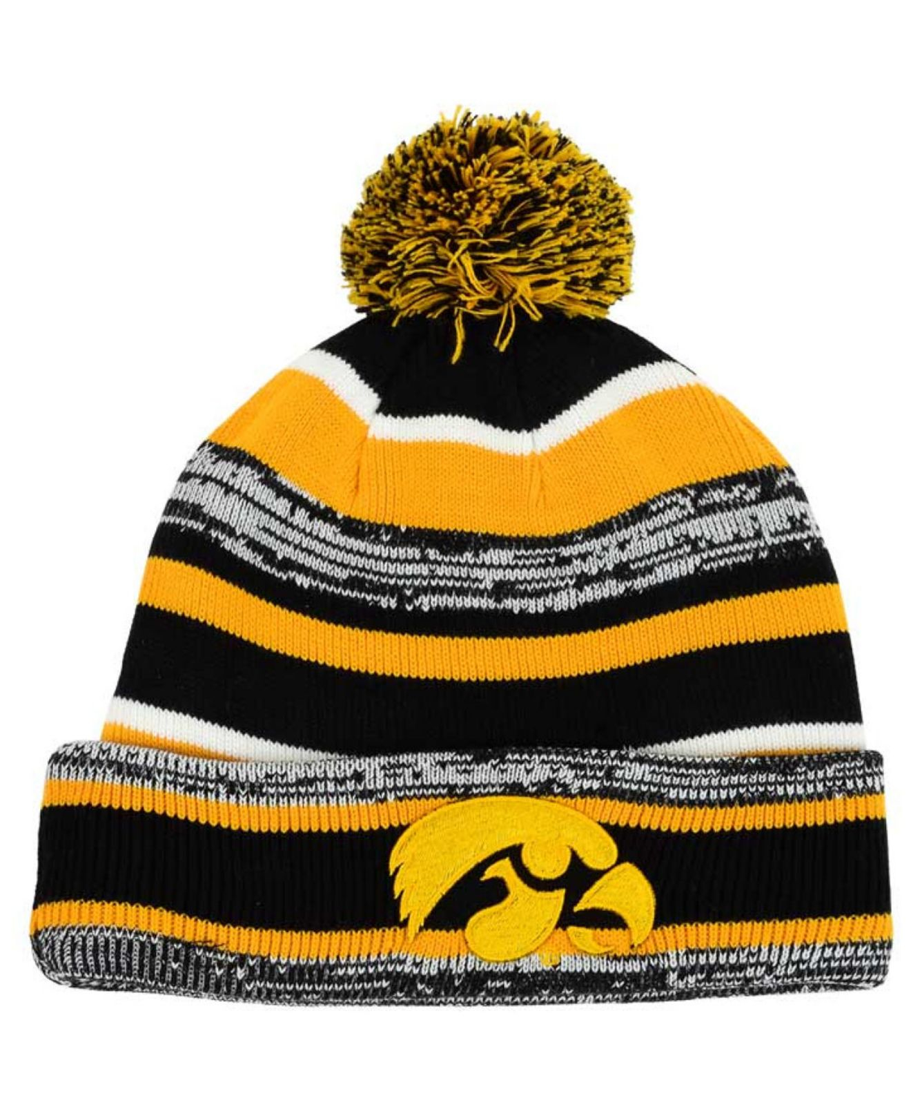 686d1e98 ... australia lyst ktz iowa hawkeyes sport knit hat in black for men c959a  b6201