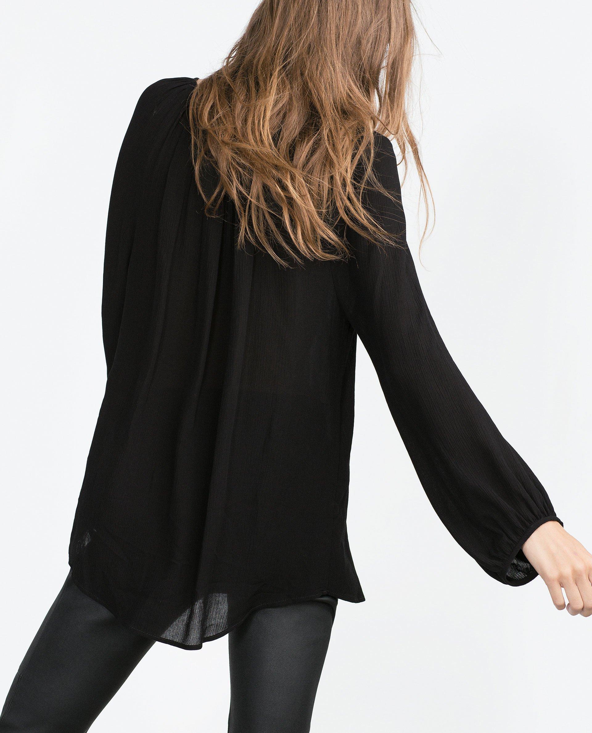 Zara Online Blouse 15
