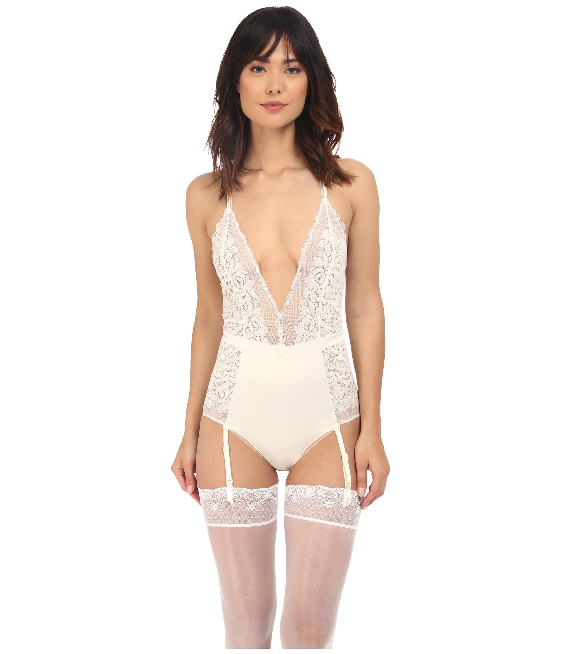 Calvin klein Seduce Bodysuit in White