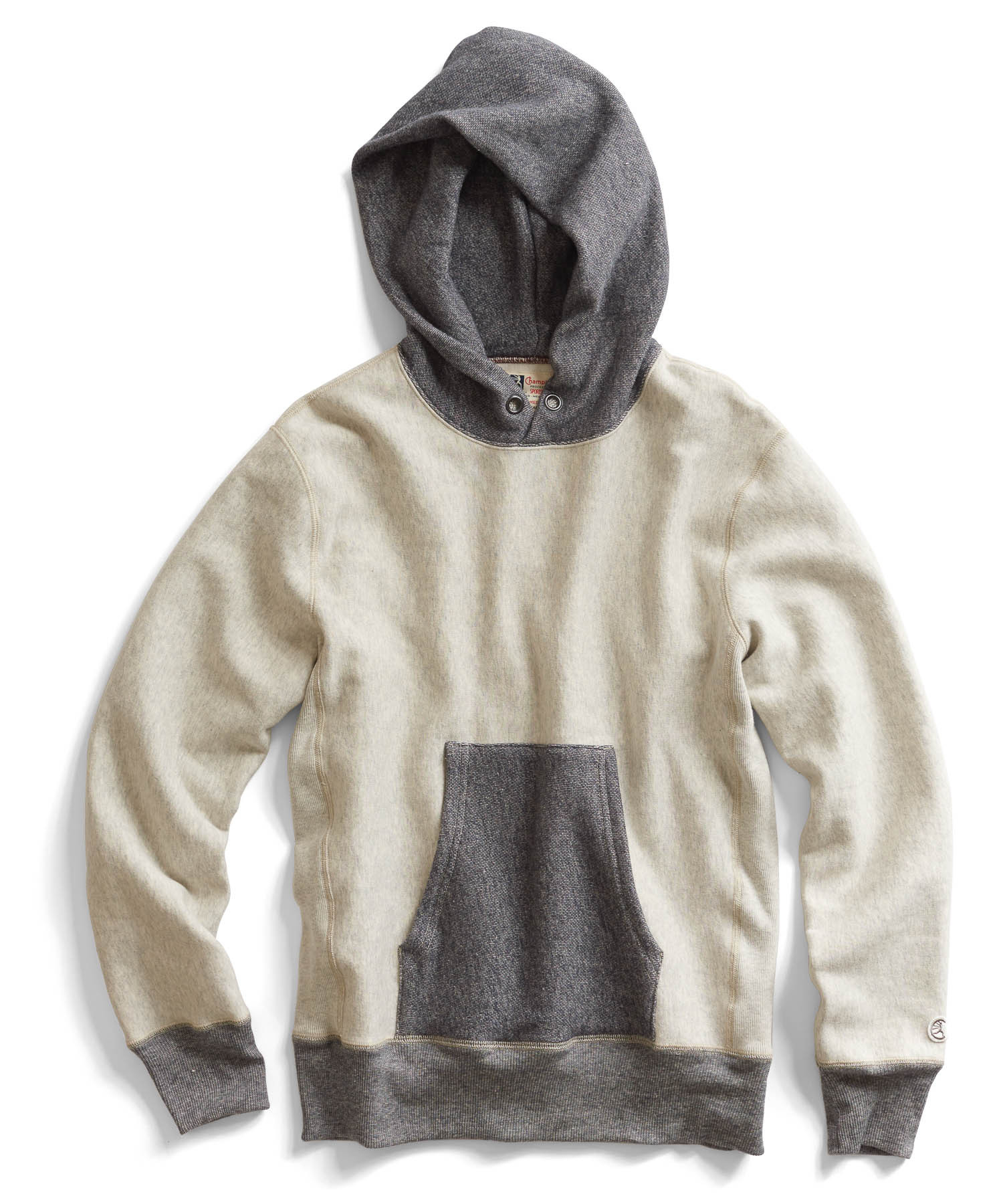 todd snyder vintage hoodie in oatmeal heather in natural. Black Bedroom Furniture Sets. Home Design Ideas