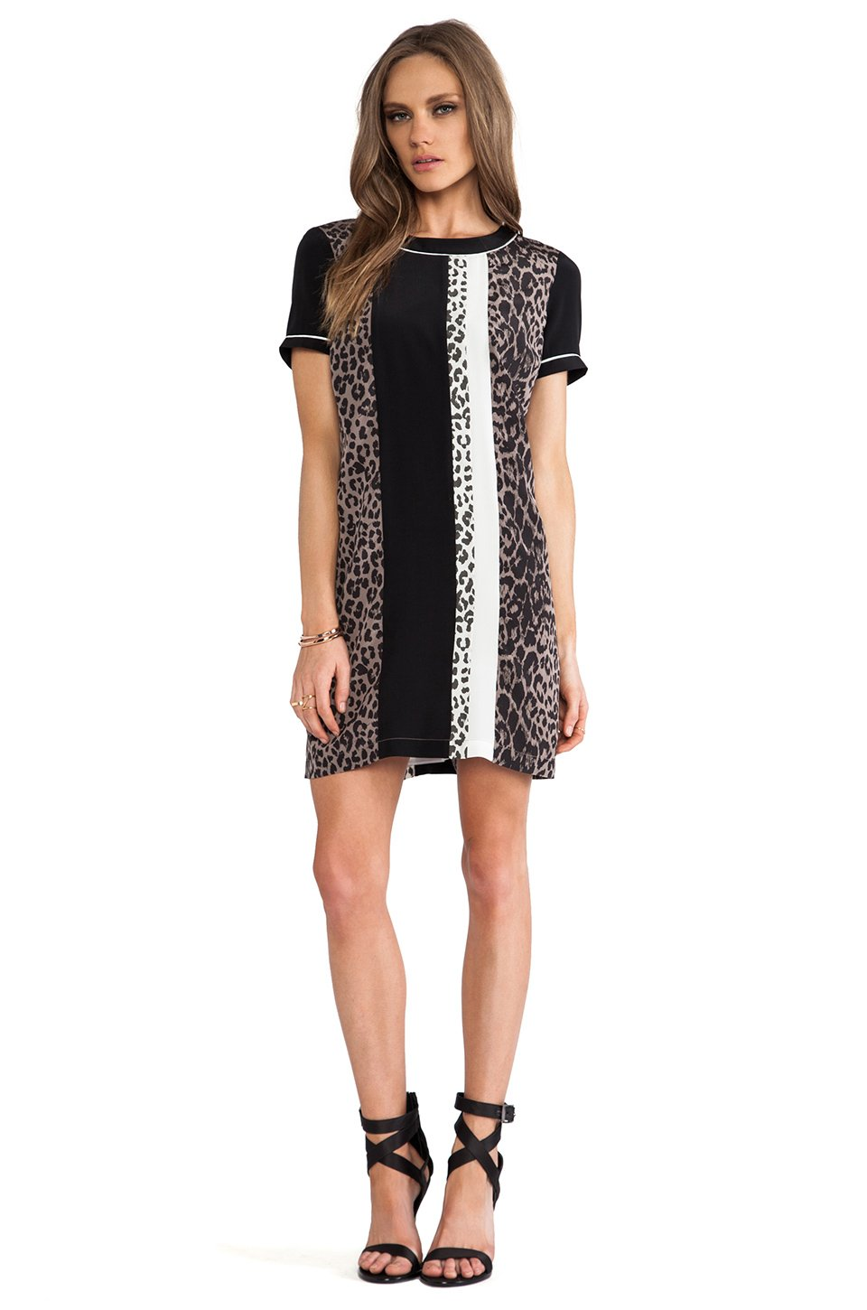 Lyst Elizabeth And James Montana Dress In Black