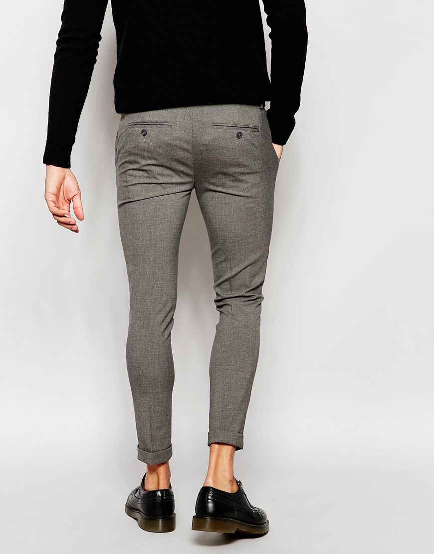 Grey Wash Jeans Mens
