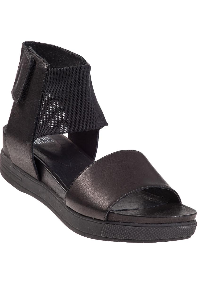 Lyst Eileen Fisher Spree Platform Sandal Black Leather
