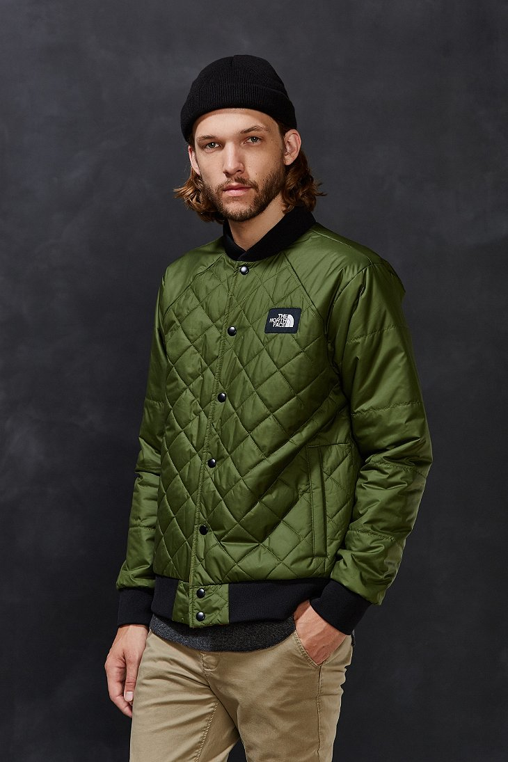 Lyst The North Face Jester Bomber Jacket In Green For Men