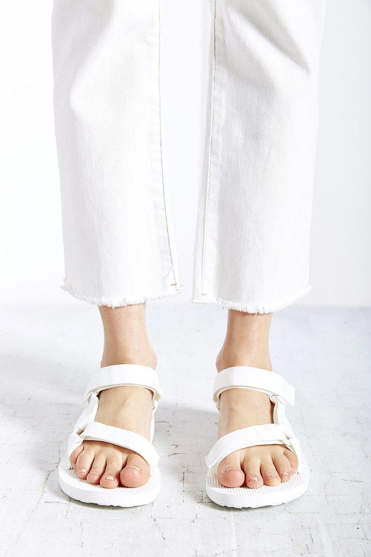 9d8619886cbd Lyst - Teva Original Universal Sandal in White