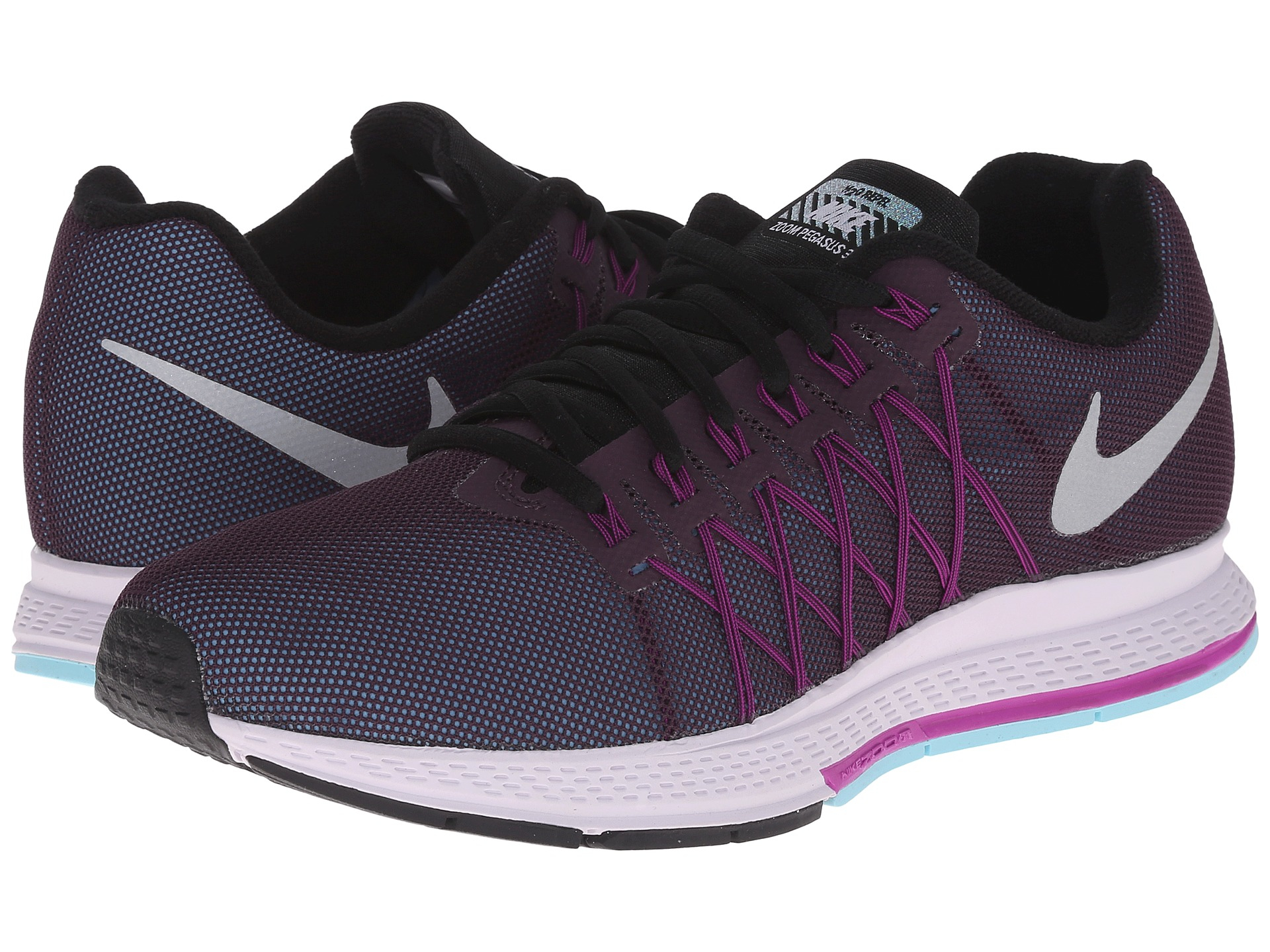 nike air zoom pegasus 32 flash for men lyst. Black Bedroom Furniture Sets. Home Design Ideas
