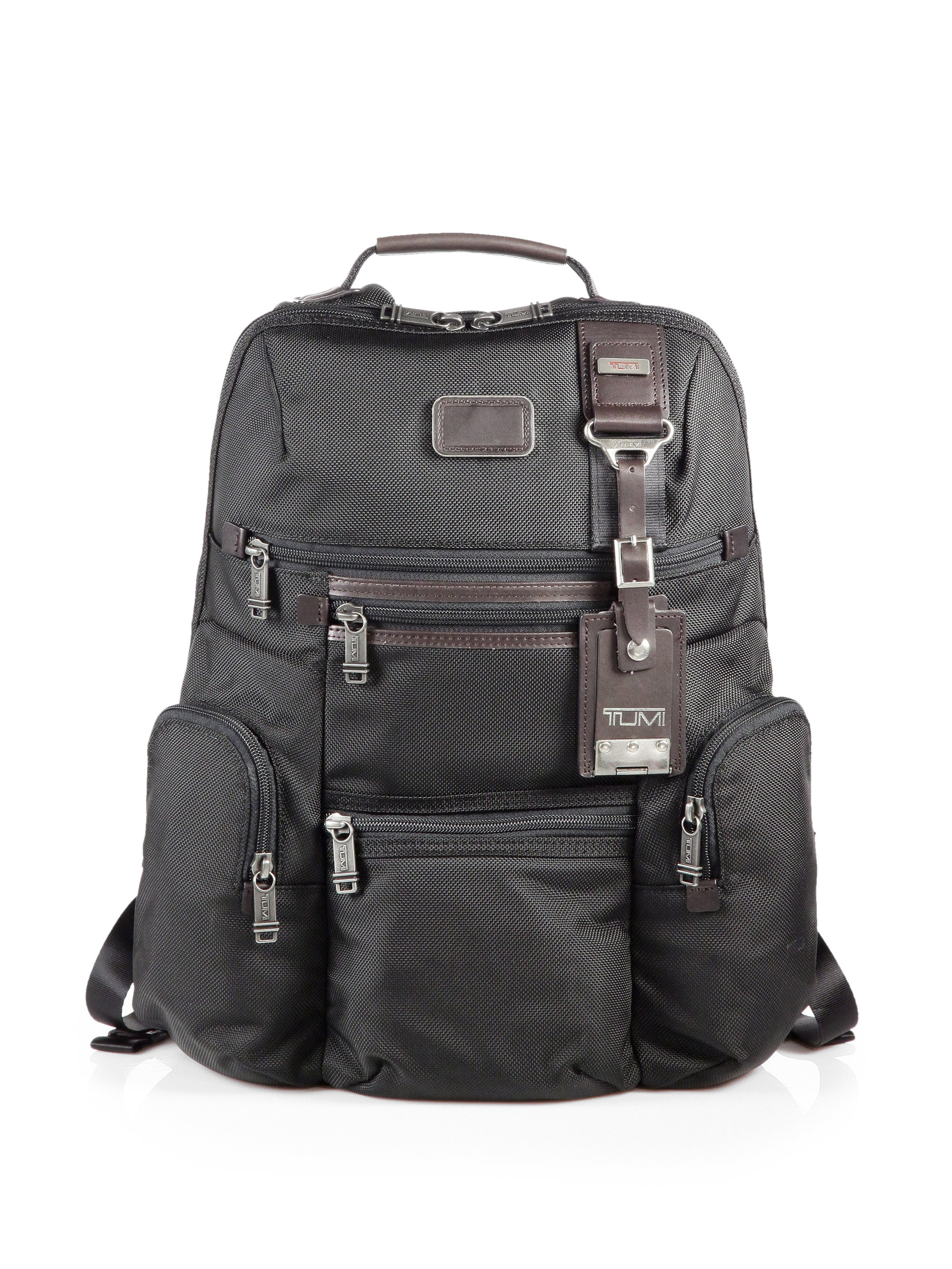 Tumi Alpha Bravo Knox Backpack In Black For Men Lyst