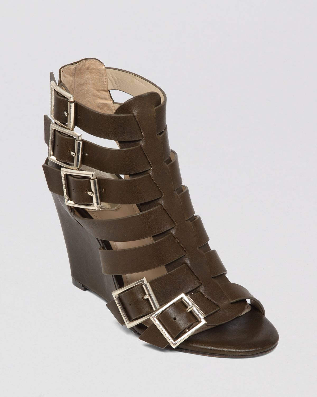 Lyst Vince Camuto Gladiator Wedge Sandals Martez In Green